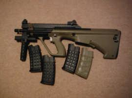 Asg aug a3 commando electric airsoft gun