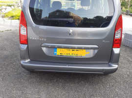 Peugeot Partner Tepee, 2011 (11) Grey Hatchback, Manual Diesel, 93k miles