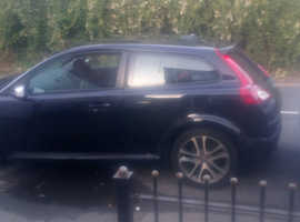 Volvo C30, 2008 (08) Black Hatchback, Manual Diesel, 132,400 miles
