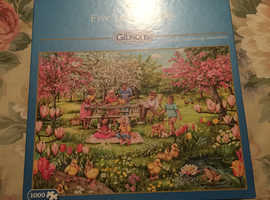 Gibson's 1000 piece JigSaw puzzle