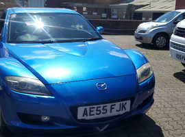 Mazda RX-8, 2005 (55) Blue Coupe, Manual Petrol, 101,346 miles