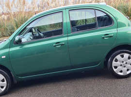 AUTOMATIC NISSAN MICRA 2003 (53) GREEN HATCHBACK,AUTOMATIC PETROL,33,202 miles