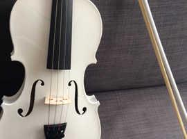 Violin 3/4 white
