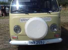VW T2 Bay Westfalia Campervan 1970