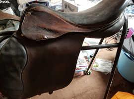 """16""""  medium wide pony saddle"""