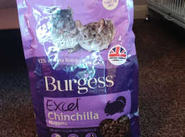 Brand new excel chinchilla food