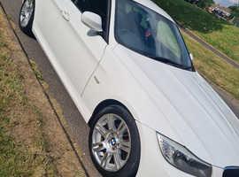 BMW 3 Series, 2010 (10) White Saloon, Manual Petrol, 97,000 miles