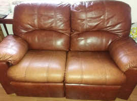 Leather Sofa 1 Seat Recliner
