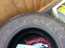 Tyres 17' off road
