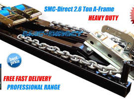 BUY CAR TOWING A-FRAMES FROM UK SUPPLIER ONLINE (SMC-DIRECT) only £149.99 FREE UK DELIVERY