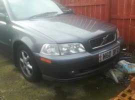 Volvo S/V40 SERIES, 2003 (03) Grey Saloon, Manual Petrol, 141,000 miles