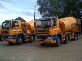 HGV Class 2 Concrete Mixer Driver