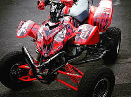 Polaris Predator 500 with upgrades