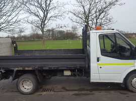 Top Transit tipper with lift.