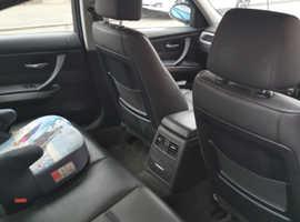 BMW 3 Series, 2007 (07) Srebro Salon, Manual Benzyna, 118,624 miles