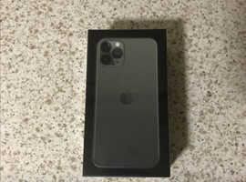 New Sealed Apple iPhone 11 Pro - 64GB - MidnightGreen (Vodafone)