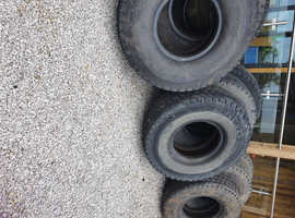 Used Tractor and Car Tyres