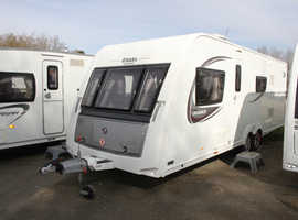 Elddis Avante SoLid 636 2015 6 Berth Fixed Bunk Beds Twin Axle Caravan