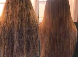 Hair and make up including rebonding (keratin), pedispa,nail,etc.