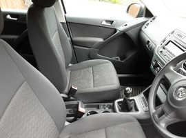 Volkswagen Tiguan, 2012 (12) Grey Saloon, Manual Diesel, 74,000 miles