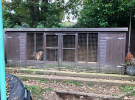 Large double kennel block £400