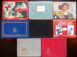 8 Dual Packs Of Vintage Playing Cards.
