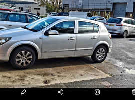 Vauxhall Astra, 2006 (06) Silver Hatchback, Manual Diesel, 118,298 miles