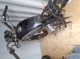 Motorbike frame