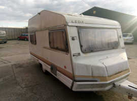 2 Berth Avondale Leader front seats removed