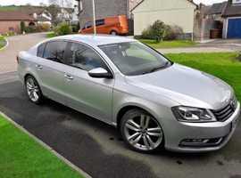 Volkswagen Passat, 2012 (62) Silver Saloon, Manual Diesel, 92,000 miles