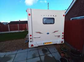 2011 Bailey Unicorn Seville 2 Berth Touring Caravan