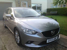 Mazda MAZDA 6, 2013 (13) Silver Estate, Manual Diesel, 97,500 miles