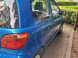 Toyota Yaris, 2003 (53) Blue Hatchback, Manual Petrol, 60,880 miles
