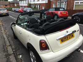 Mini MINI, 2009 (59) White Convertible, Manual Petrol, 54,236 miles