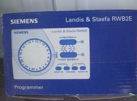 Siemens Landis & Staefa RWB2E Programmer for heating and hot water (New and Boxed)