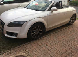 Audi TT, 2011 (11) White Convertible, Manual Petrol, 69,700 miles