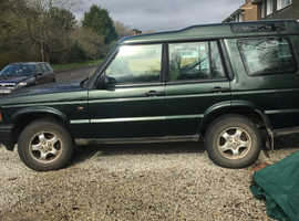 Land Rover Discovery, 1999 (T) Green Estate, Manual Diesel, 150,000 miles