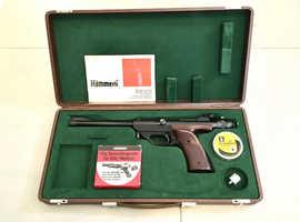 Hammerli Master Co2 .177 10m Match Pistol