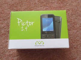 """Brand New Mobiwire Pictor 2.4"""" Mobile Phone Unlocked SIM Free"""