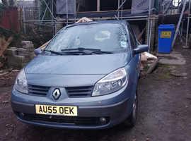 Renault Megane, 2005 (55) Blue MPV, Manual Petrol, 100,000 miles
