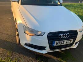 Audi A5, 2013 (13) White Hatchback, Cvt Diesel, 93,000 bargain price