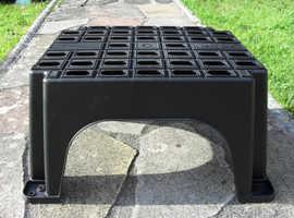 Caravan/Motorhome Single Plastic Step