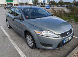 Ford Mondeo, 2008 (08) Grey Hatchback, Manual Petrol, 1 Year MOT