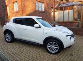Nissan Juke, 2012 (62), Manual Petrol, 46,800 miles