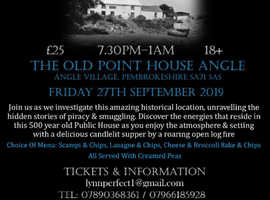 Paranormal Investigation & Supper