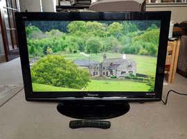 Panasonic 37 inch Plasma TV with Freeview