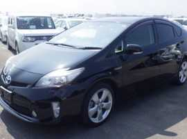 Toyota Prius, 2012 (62) Black Hatchback, Automatic Hybrid, 62,500 miles