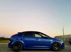 Ford Focus, 2006 (56) Blue Hatchback, Manual Petrol, 20,000 miles