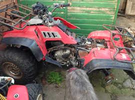 Honda quad spares or repair 4x4