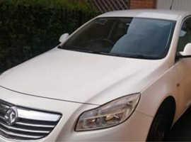 Vauxhall Insignia, 2010 (59) White Hatchback, Manual Diesel, 152,955 miles